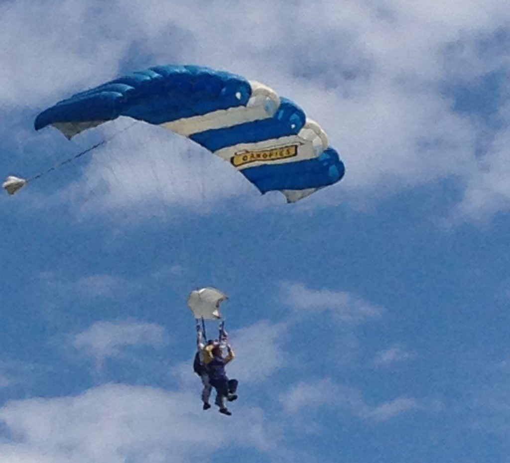 Skydive Aug 14
