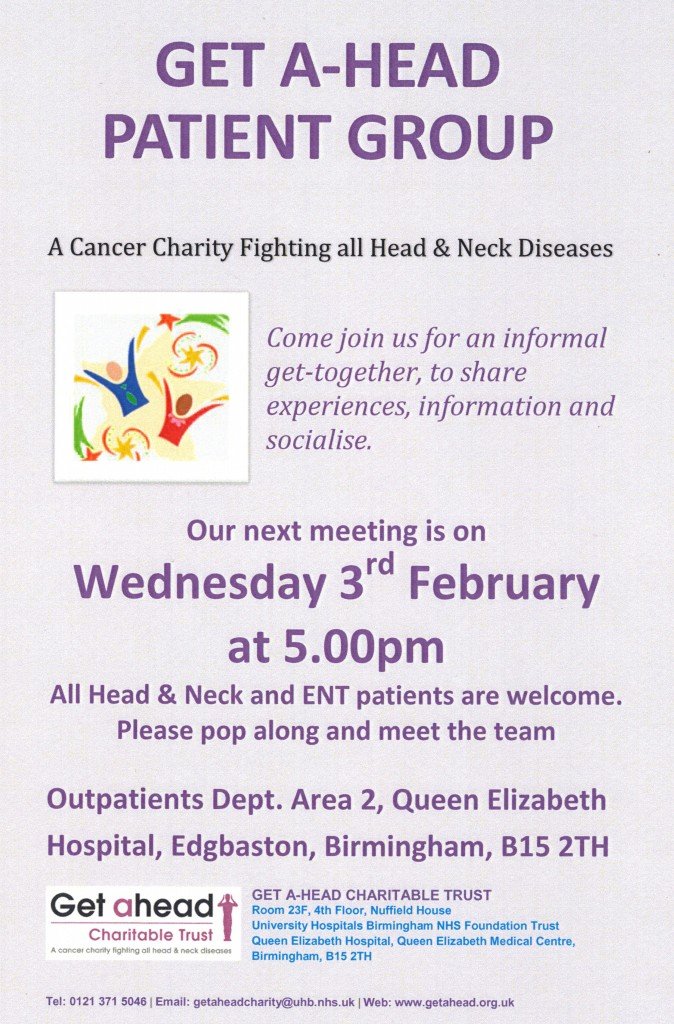 Patient Group Meeting Feb 2016 Image