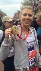 Emma Louise Hughes - London Marathon 2016