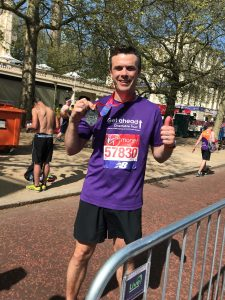 Michael @ London Marathong 2018