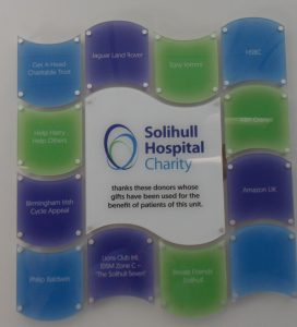 GAH Supports Solihull Hospital