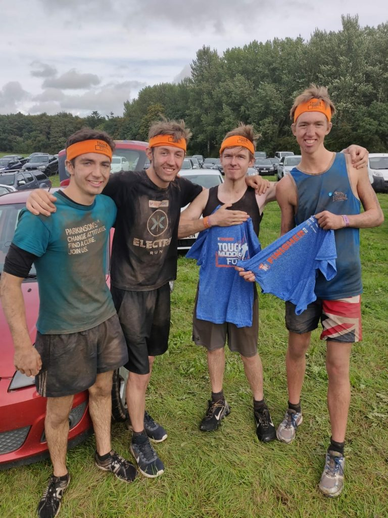 Ben & Friends at Tough Mudder